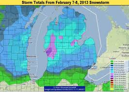 michigan snowstorm weather update and the winner of top snowfall