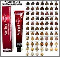 L Oreal Professionnel Colour Chart Details About Loreal Professional Majirel Majirouge Majiblonde 6 1 Hair Colour 50ml
