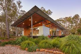 solar powered bush house exemplifies chic eco friendly living in the australian outback