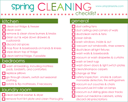 Spring Cleaning Checklist Tips Free Printable