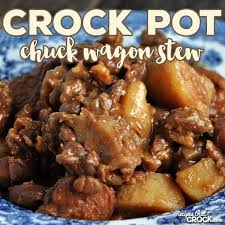 that is exactly what this amazing crock pot chuck wagon