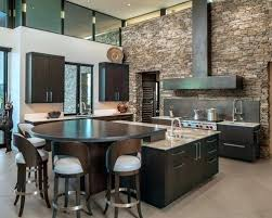 dark wood modern kitchen cabinets. Dark Wood Modern Kitchen Cabinets Large Contemporary Designs Trendy U Shaped Porcelain Floor And