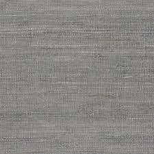 Grey Pearl Grass Cloth Non-Pasted ...