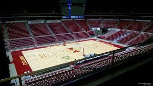 Hilton Coliseum Section 214 Rateyourseats Com