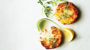 smoked salmon dill and caper fishcakes
