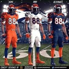 Jerseys Broncos Football Denver Jersey Away Discount Cheap Nfl Jerseys