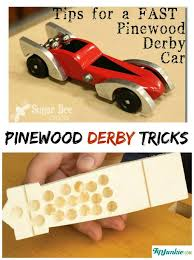 Pinewood Derby Car Display Stand