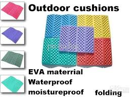 waterproof cushions for outdoor furniture. simple cushions new eva camping mat picnic tent pads moistureproof inflatable mattress  foam folding cushion yoga mats mixed colors patio tables rocking chair  throughout waterproof cushions for outdoor furniture