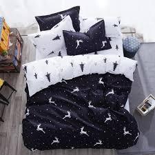 black and white twin king queen size kids polyester bed sheet comforter duvet covers animal print giraffe bedding set zebra print bedding tropical