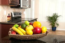 kitchen fruit basket fruit bowl on kitchen counter is your kitchen making you fat by kitchen