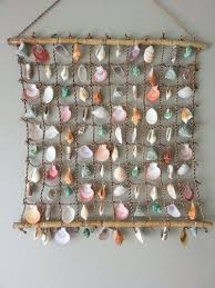 Enhancing Nautical Decor Theme With Sea Shell Crafts And ImagesSeashell Home Decor