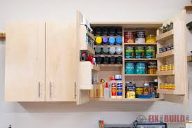 diy wall cabinets with 5 storage options