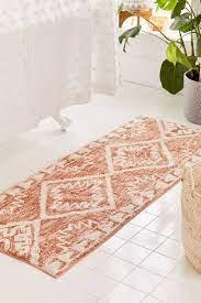 Sienna Kilim Bath Mat Small Bathroom Decor Bathroom Rugs Boho Bathroom