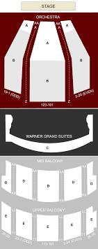 Warner Theater Washington Dc Seating Chart Stage