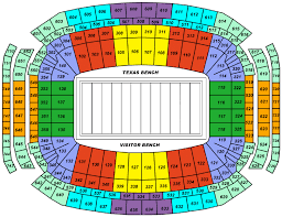 Reliant Seating Chart Football Texans Seating Nrg Stadium Seating Chart Houston Texans