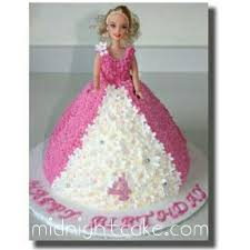 25 Kg Pink Princess Barbie Cake Delivery To Ahmedabad At Midnight