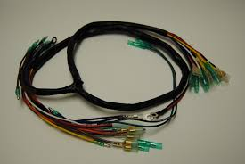 diablo cycle • parts by model • kawasaki triples h1 h2 kawasaki h1 main wiring harness 1969 71 points ignition