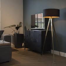 Qazqa Modern Stehleuchte Stehlampe Standleuchte Real
