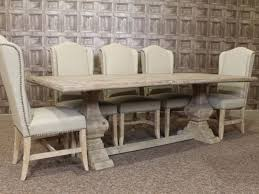 table cool distressed white dining table 10 wash set unfinished of rustic wooden with five light