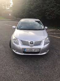 Silver 2.0 Toyota Avensis 2009 for sale, Saloon, Diesel | in ...