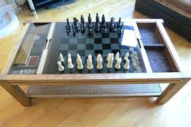 chess coffee table lovely for retro antique vintage gaming glass board uk