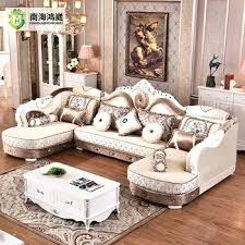 antique style living room furniture. Carved Wood Living Room Furniture French Style Antique Wooden Fabric Corner Sofa .