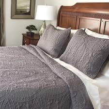 Size King Quilts & Coverlets For Less | Overstock.com & Fashionable Solid 3-piece Quilt Set (Option: King) Adamdwight.com