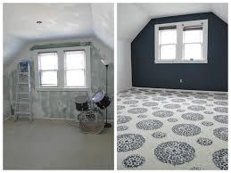 carpet paint. painted carpet, before and after carpet paint s