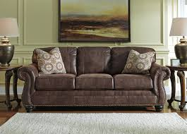 valley 3 seater faux leather sofa with