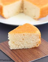 Eggless Vanilla Sponge Cake Recipe With Step By Step Photos