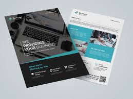 Corporate Flyer Business Flyer Template By Muhammad Irvan On Dribbble