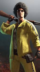 PUBG Male Player Yellow Tracksuit 4K ...