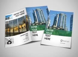 2 folded brochure template commercial real estate brochure template mycreativeshop