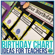 Ideas To Make Birthday Charts For Classroom Preschool Birthday Chart Ideas For Classroom Www