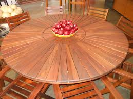 lazy susan round table