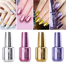 4pcs mirror nail gel polish set soak off uv gel long lasting metallic nail gel diy nail art newchic