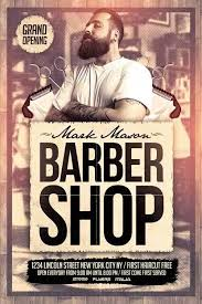barber flyer freepsdflyer download barber shop free psd flyer template