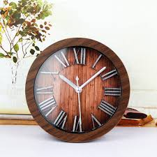vintage wood wall clocks vintage wooden wall clocks best decor things