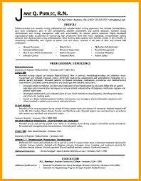 Registered Nurse Resume Templates Fascinating Free Rn Resume Template Nurses Resume Format Samples Best Of Nurse
