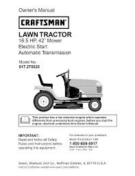 craftsman hp lawn tractor wiring diagram wiring diagram craftsman dlt 3000 917 275820 user manual 56 pages