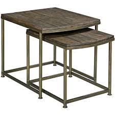 nesting end tables. 563-917 Hammary Furniture Leone Living Room Nesting Table End Tables