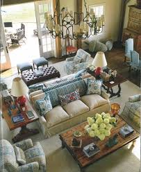 Bring Back Intimacy In A Large Room With Back To Back Sofas