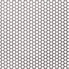 perforated metal screen. R06451 Perforated Metal Sheet: 6.4mm Round, 51% Open Area Screen R