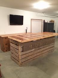 Bar Made Out Of Pallets Outdoor Kitchen Made From Pallets A Great Way To Recycle Pallet