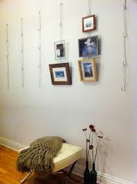 Wire Hanger Picture Hanging System Upcycling Pinterest Wire