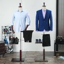 Suit Display Stands Male fiberglass half body mannequin male suit clothes display men 7