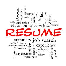 Resume Word the word resume Enderrealtyparkco 1