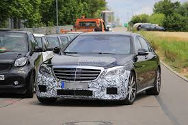 2018 Mercedes-AMG S63 Sedan Starts Testing With New Engine ...