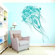 large vinyl wall decals jellyfish wall decal jellyfish abstract decal extra large vinyl wall decal in large vinyl wall decals
