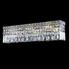 elegant 2032w26c rc maxim small 26 crystal vanity light fixture ele 2032w26c